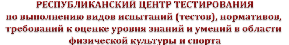 Центр тестирования ГТО в Чеченской Республике